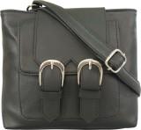 Toteteca Bag Works Women Black PU Sling ...
