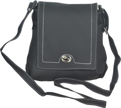Freddys Men, Women Casual Black PU Sling Bag