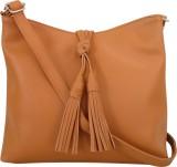Toteteca Bag Works Women Tan PU Sling Ba...