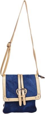 Aquila Women Blue Denim Sling Bag
