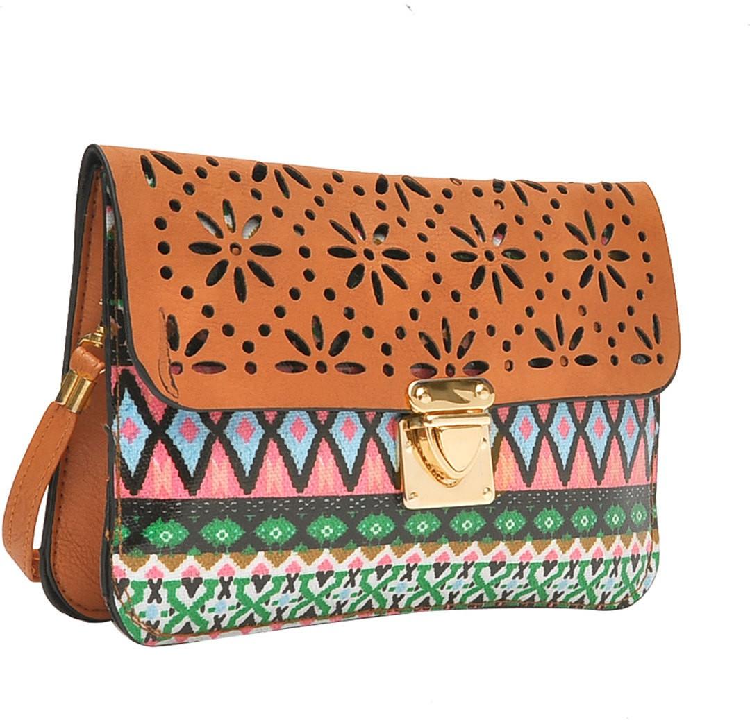 Sling bag below 500 - Hawai Women Multicolor Pu Sling Bag