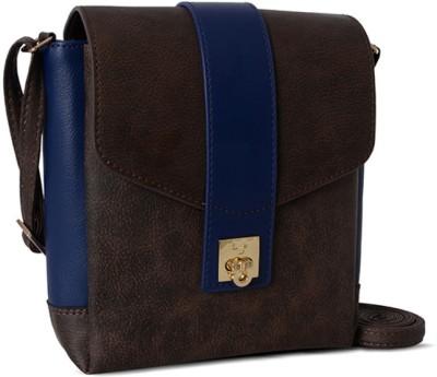 Baggit Women Brown Rexine Sling Bag