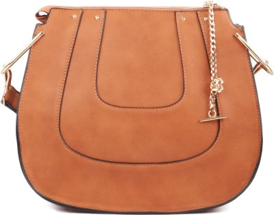 Heaven Deal Women, Girls Brown PU Sling Bag