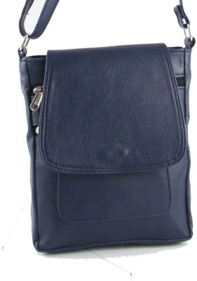 Rockyard Girls, Women Blue Leatherette Sling Bag