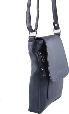 31st Street Girls, Women Blue Leatherette Sling Bag