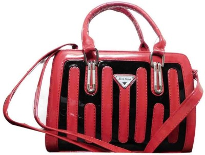 Hot Sea Women Red, Black Polyester Sling Bag