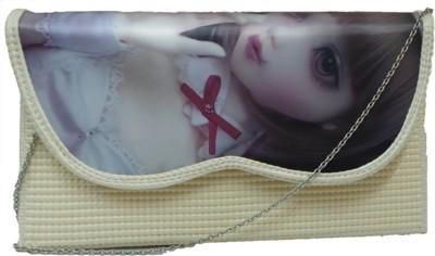 Berries Girls, Women White PU Shoulder Bag