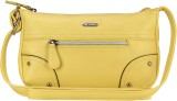 Lavie Women Yellow PU Sling Bag