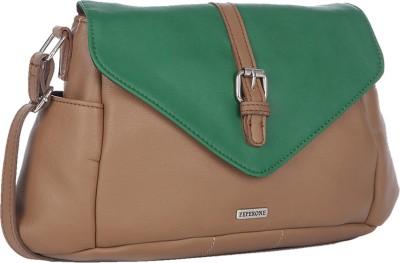Peperone Girls, Women Brown PU Sling Bag