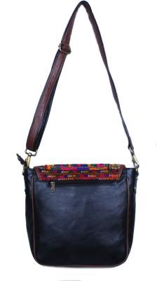 KDHS Girls Multicolor PU Sling Bag
