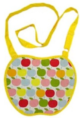 Always Kids Girls Casual, Evening/Party Yellow Felt Sling Bag
