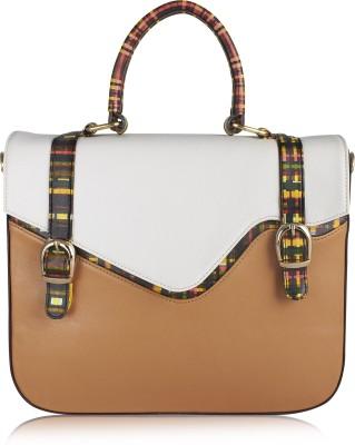 Zaera Women Beige PU Sling Bag