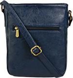 Bagsy Malone Women Blue PU Sling Bag