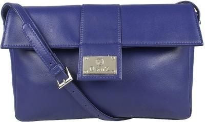 Osaiz Women, Girls Blue PU Sling Bag