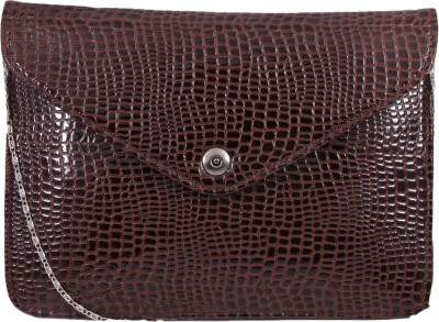 Pinkdivaas Girls, Women Brown Leatherette Sling Bag