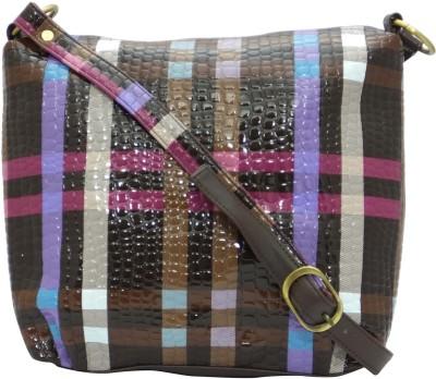 Stylocus Women Casual Brown Sling Bag
