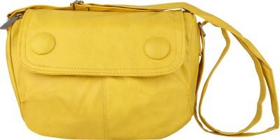 Estoss Women Casual Yellow PU Sling Bag