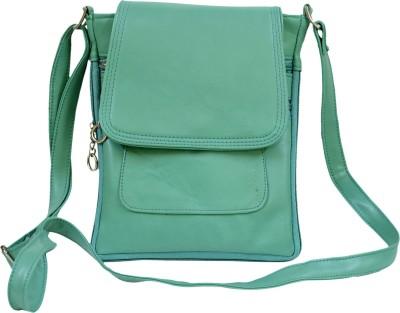 Apick Women Green Rexine Sling Bag
