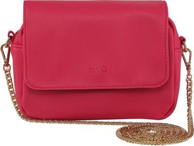 ToniQ Girls, Women Pink Polyester Sling Bag