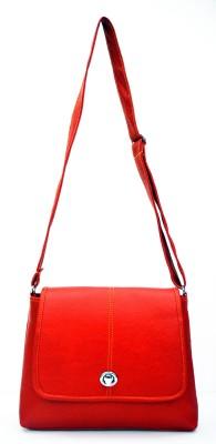 inkdice Girls, Women Red PU Sling Bag