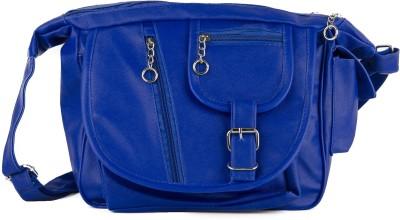 Igypsy Girls, Women Blue Leatherette Sling Bag