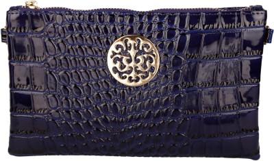 Stylehoops Women, Girls Blue PU Sling Bag