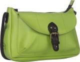 Peperone Women Casual Green PU Sling Bag