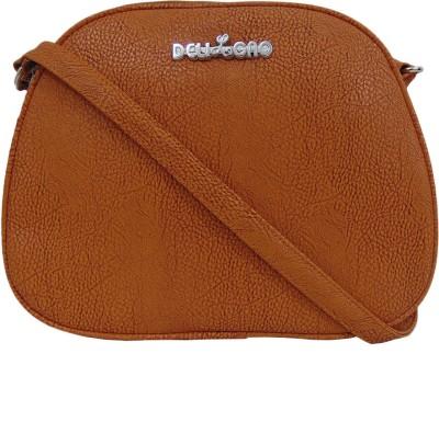 Estoss Women Yellow PU Sling Bag