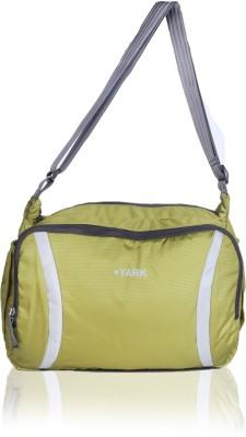 Yark Boys Green Polyester Messenger Bag
