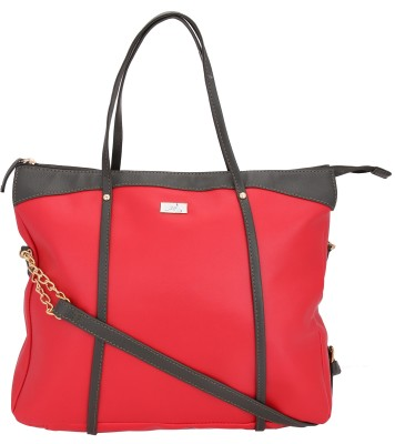 Yelloe Girls Casual Red Genuine Leather Sling Bag