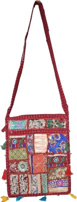 Prajo Women Multicolor PU Sling Bag