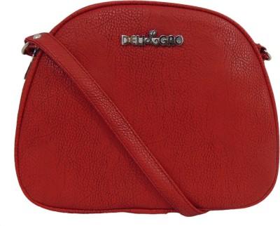 Estoss Women Red PU Sling Bag