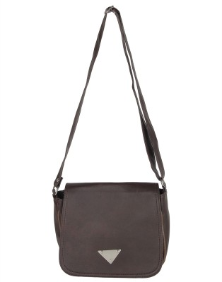 Bags Craze Women, Girls Casual Grey Leatherette Sling Bag
