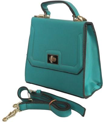 Knighthood Women Green PU Sling Bag