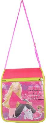 Arisha kreation Co Women Pink Polyester Sling Bag