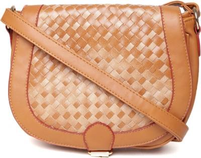 abrazo Girls, Women Brown PU Sling Bag