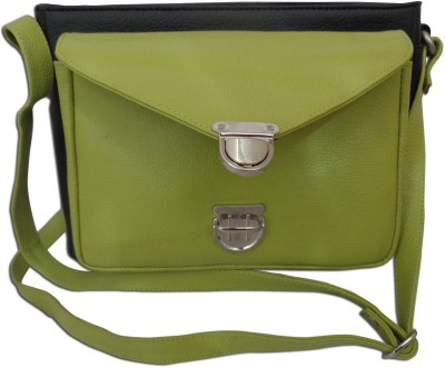 Style 98 Women Multicolor Genuine Leather Sling Bag