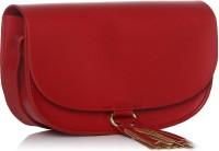 ToniQ Women Maroon PU Sling Bag