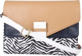 Zaera Women Casual Brown PU Sling Bag