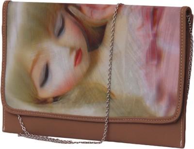 Notbad Girls Casual Beige PU Sling Bag