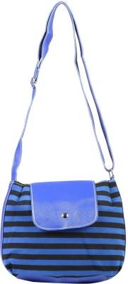 FabSeasons Women, Girls Casual Blue Cotton Sling Bag