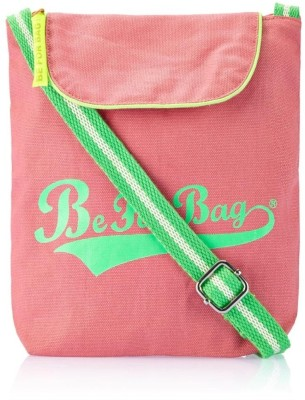 Be for Bag Women Casual Pink Canvas Sling Bag