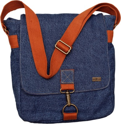 Kohl Boys, Girls Casual Blue Denim Sling Bag