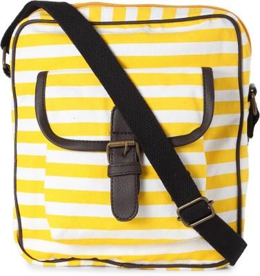 People Women Yellow PU Sling Bag