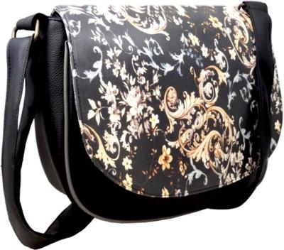 Hi Look Women Casual Multicolor PU Sling Bag