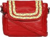 Bagkok Women Red PU Sling Bag