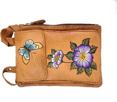 Balona Girls, Women Brown Genuine Leather Sling Bag
