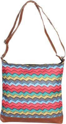 Toes Untd Women Casual Multicolor Leatherette Sling Bag