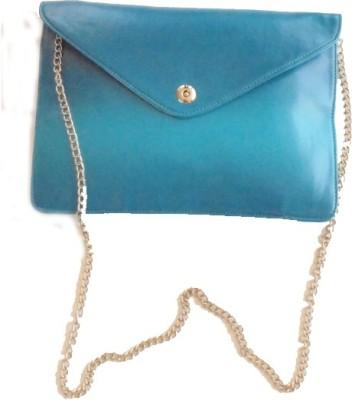 Ellye Girls Evening/Party Blue PU Sling Bag
