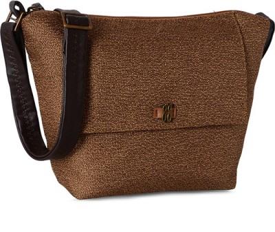 Baggit Girls, Women Brown Cotton Sling Bag